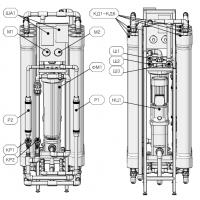 AWT RO-250 1/4040 обратный осмос 250 л/час