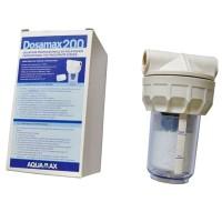 Полифосфатный магистральный фильтр DOSAMAX 200 для защиты бытовой техники от накипи