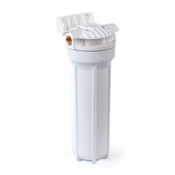 Корпус магистрального фильтра стандарта 10SL для холодной воды Гейзер.