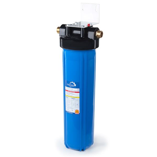 Корпус магистрального фильтра Гейзер под картриджи стандарта 20 Big Blue для холодной воды