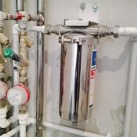 Универсальный магистральный фильтр для комплексной очистки горячей и холодной воды.