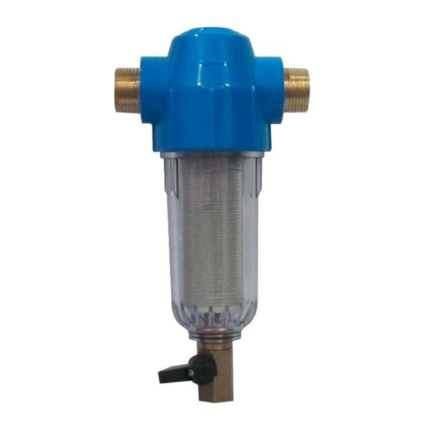 Сетчатый магистральный фильтр механической очистки воды Гейзер Грязевик