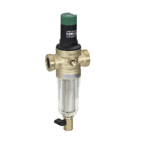 Комбинированный сетчатый фильтр с редукционным клапаном