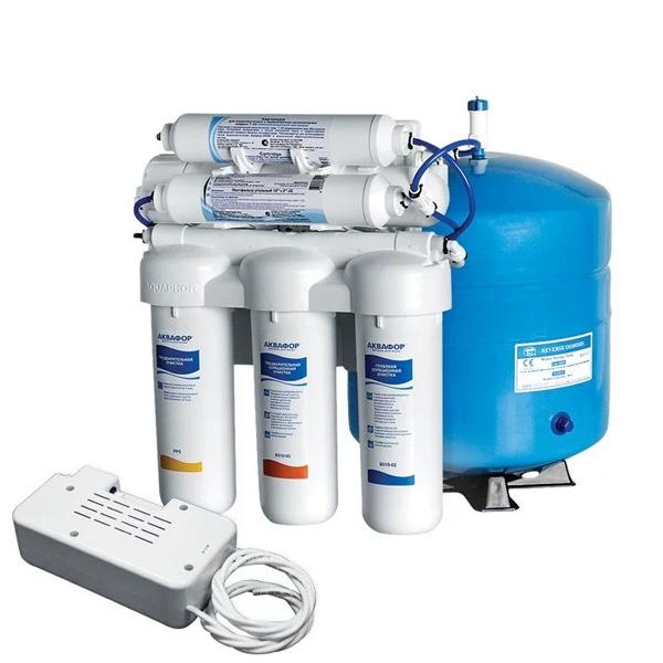 Аквафор Осмо 50 исп 5 ПН обратный осмос с помпой фильтр для воды
